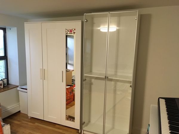 Moving Out Ikea Furniture Sale Brimnes 3 Door Closet Wardrobe