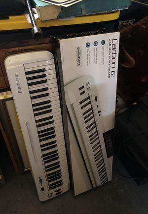 Carbon 61 midi key board for Sale in Altamonte Springs, FL