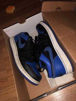 bee6cdd0d67c3 Wmns Air Jordan 1 Retro Low BLUE BLACK for Sale in McClellan Park