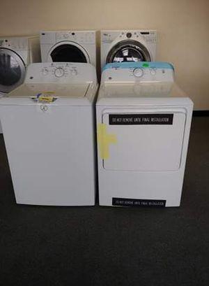 Photo Ge brand new electric set 220v. GTW220ACK6WW-Washer GTX22EASK0WW-Dryer