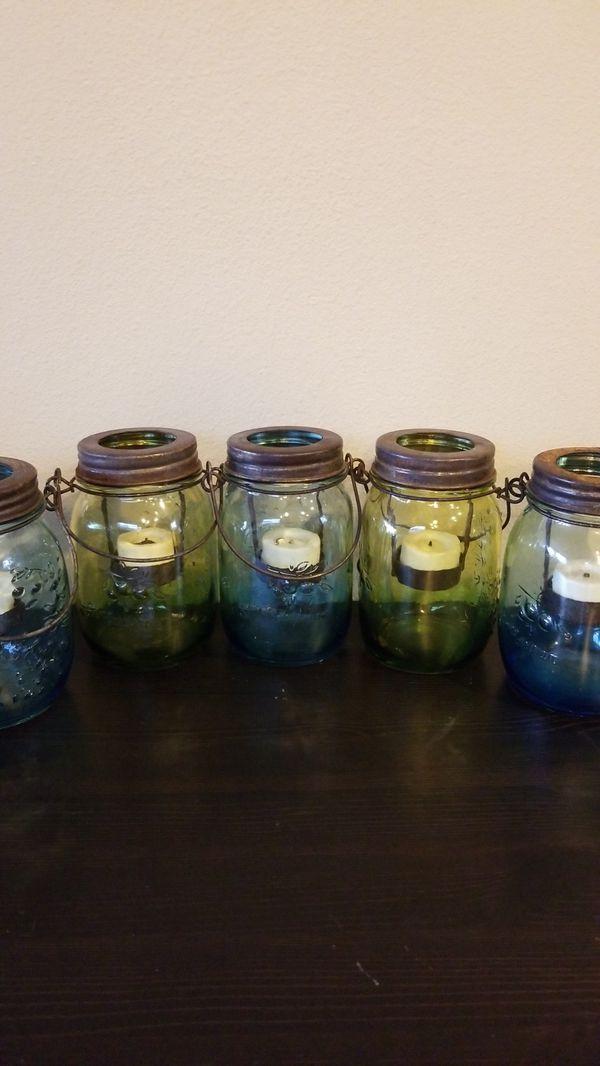 Rustic Mason Jar Tealight Holders For Sale In Seattle Wa Offerup