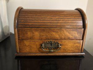 Antique English tobacco roll-top box for Sale in Atlanta, GA