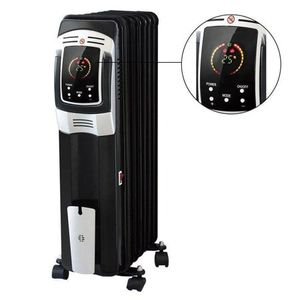 Yosoo Oil Filled Radiator Heater,Electric DF-150A7L-7 Full Room Heater with LED Display Screen Remote Control for Home Office,24-Hour Timer 1500W for Sale in Halethorpe, MD