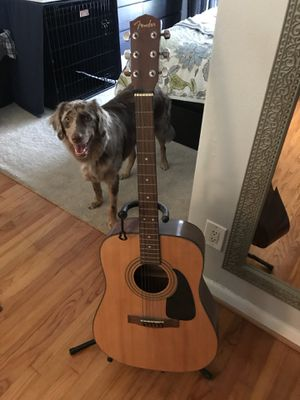 Fender Guitar and stand for Sale in Orlando, FL