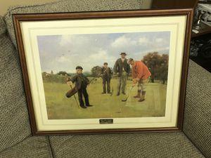 Photo Vintage Golf Print (Big Oak Ranch Golf Classic 1995)