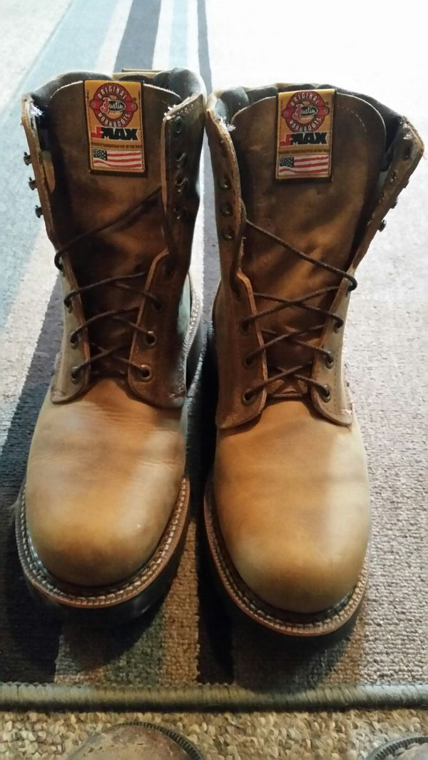 68a30bed6bc Justin JMAX boots for Sale in Lawson, MO - OfferUp