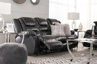 🍹İn Stock🍒SPC.Vacherie Black Reclining Living Room Set  byAshley   Thumbnail
