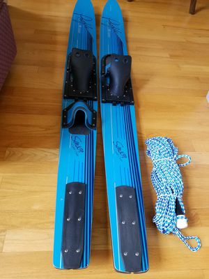 "Cypress Gardens Profile Water Skis 67"" with Pull Rope Great Condition for Sale in Glenelg, MD"