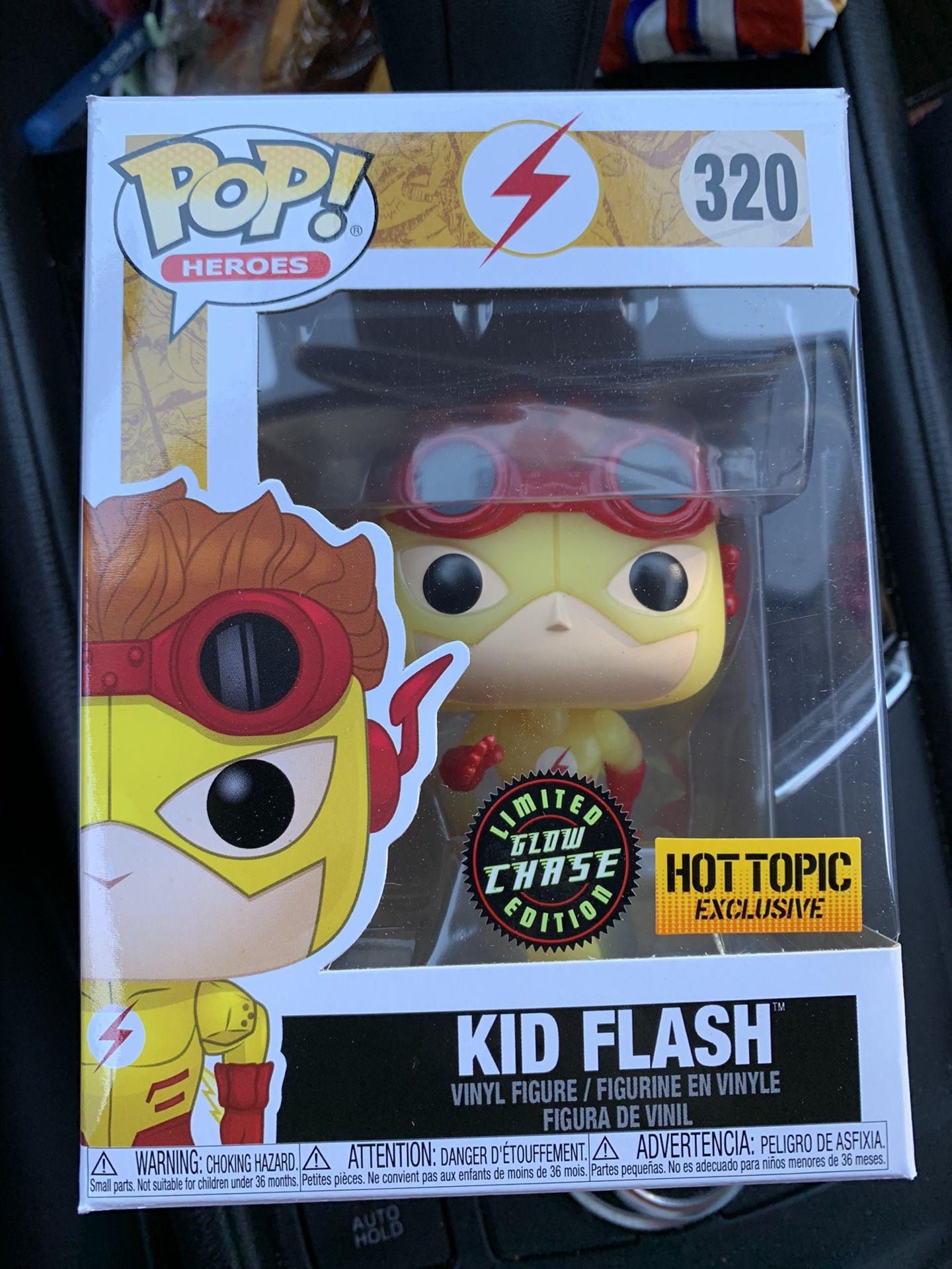 Funko Pop Kid Flash Chase