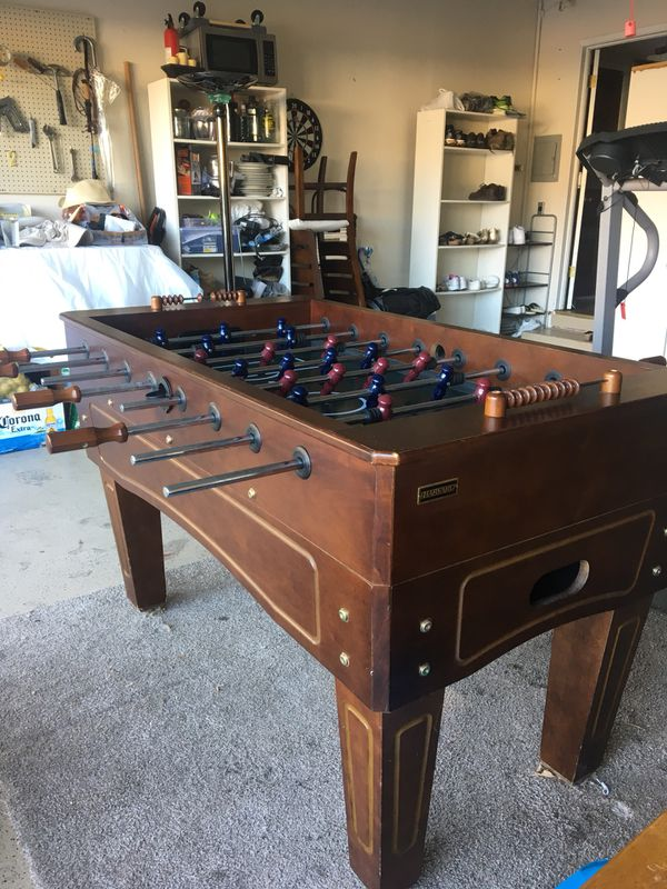Magnificent Harvard Foosball Table For Sale In San Jose Ca Offerup Download Free Architecture Designs Remcamadebymaigaardcom