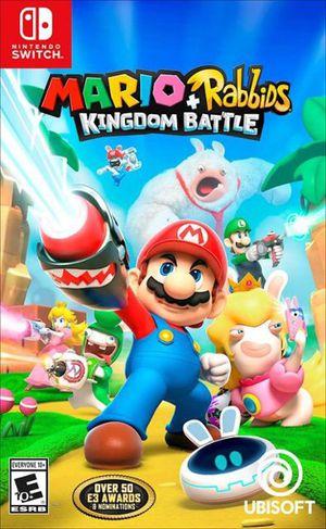 Mario + Rabbits Kingdom Battle for Nintendo Switch for Sale in Washington, DC