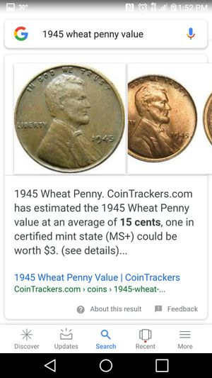 1945 One Penny