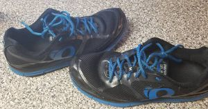 57e04b806 Pearl Izumi Em Road M2 V3 Running Shoes Sneakers Size 10 Black Blue for Sale  in