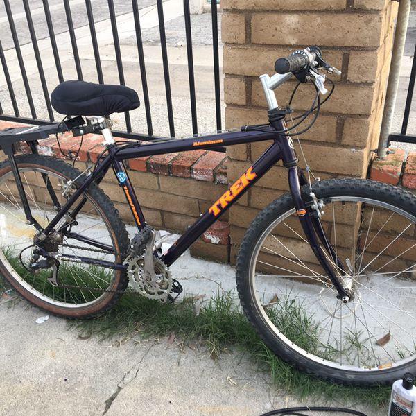 vw limited edition trek aluminum mountain bike  sale  whittier ca offerup