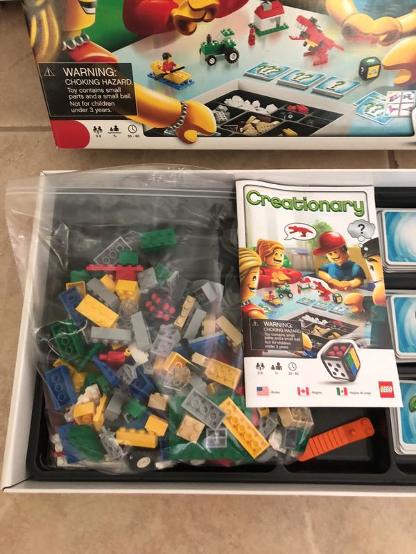 Lego Creationary Game Complete For Sale In Vero Beach Fl Offerup