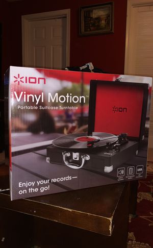 ION Vinyl Motion Turntable for Sale in Clifton, VA