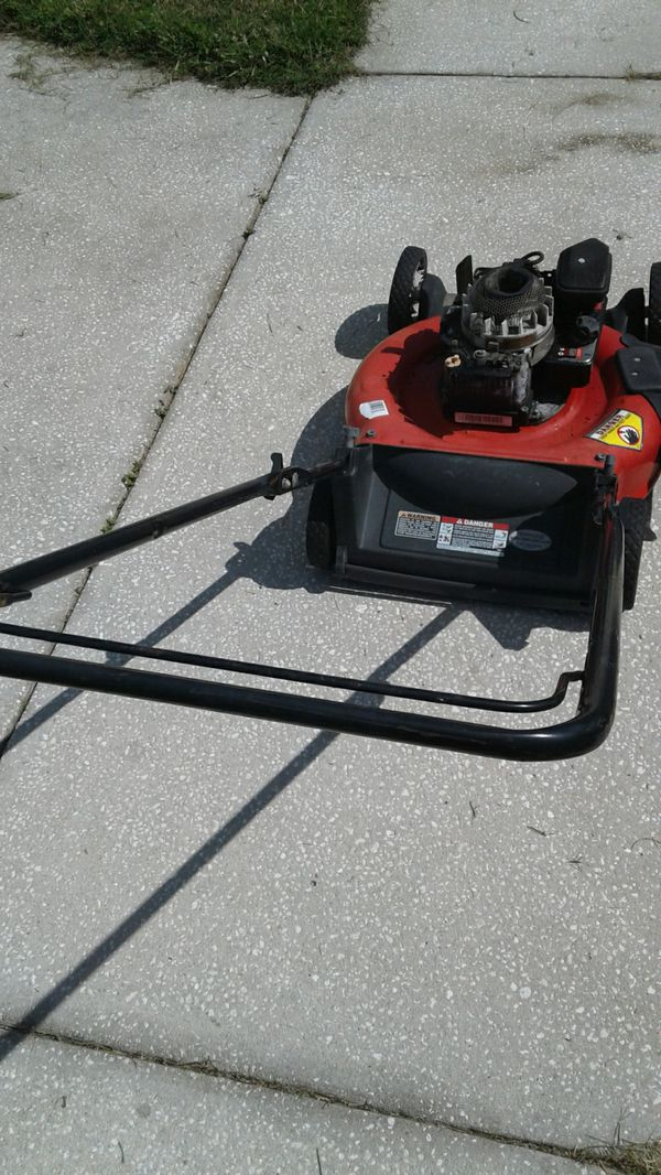 Mtd Lawn Mower With Briggs Amp Stratton Motor For Parts For