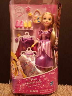Disney Princess Layer 'n Style Rapunzel - Hasbro - doll Barbie dress dresses blonde Dress up hasbro Toy kid kids children child for Sale in Seattle, WA