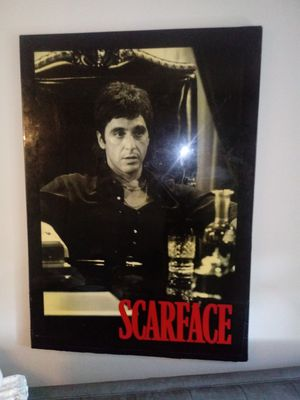 """30"""" 40"""" inc Scarface picture for Sale in Las Vegas, NV"""