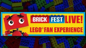 Brick Fest Live LEGO Fan Experience for Sale in Austin, TX