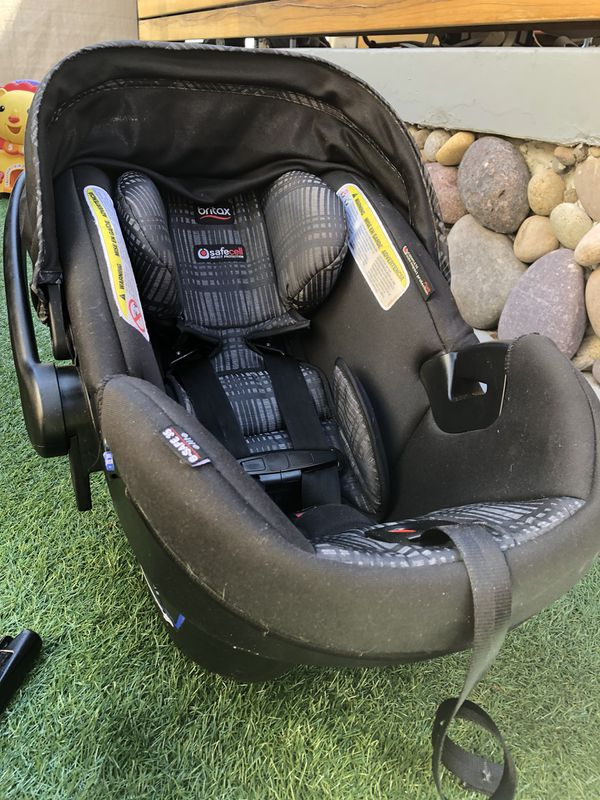 Britax B Agile Travel System Car Seat Base Stroller And