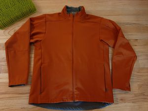 Photo Salomon Men's Softshell Jacket Size L Ski burnt orange Full Zip