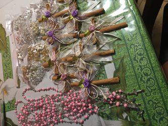 Acsesorios para primera comunión cuales de canela rosarios abuenprecio Thumbnail