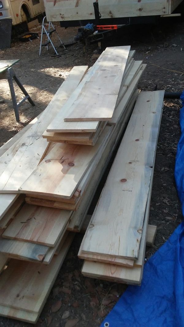 Wood Siding 1x12 Shed Planter Box Interior And