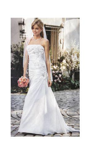 8c0f1d1a99bdd Davids Bridal wedding dress, #4 for Sale in Celebration, FL