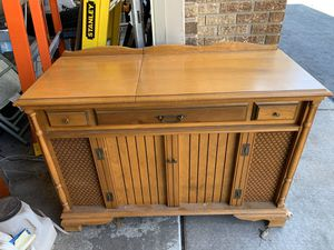 Photo Vintage record player/stereo