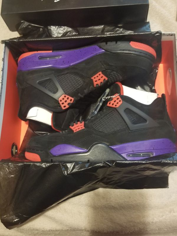 0777cf40c5a1 New Jordan 4 retro Raptors size 8.5  10.5   11   12 available for Sale in  Philadelphia