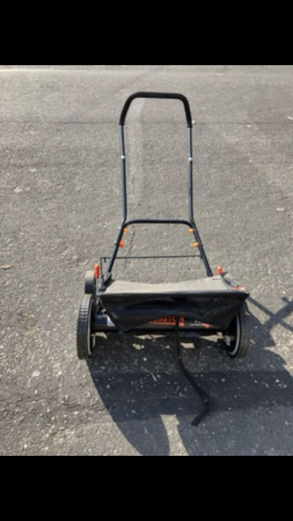 18 in  Manual Walk Behind Non-Electric Reel Mower with Bagger for Sale in  Alameda, CA - OfferUp