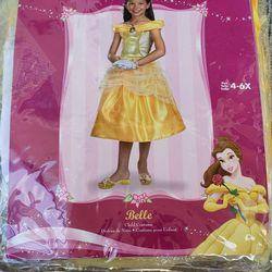 Disney Princess Belle Child Costume Thumbnail