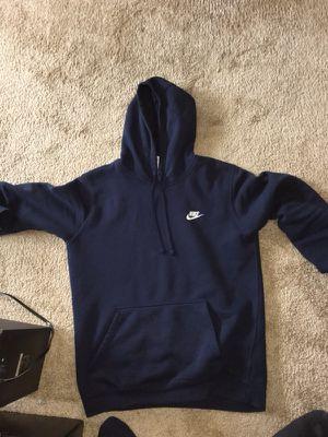 Blue Nike Hoodie Size Medium for Sale in Hyattsville, MD