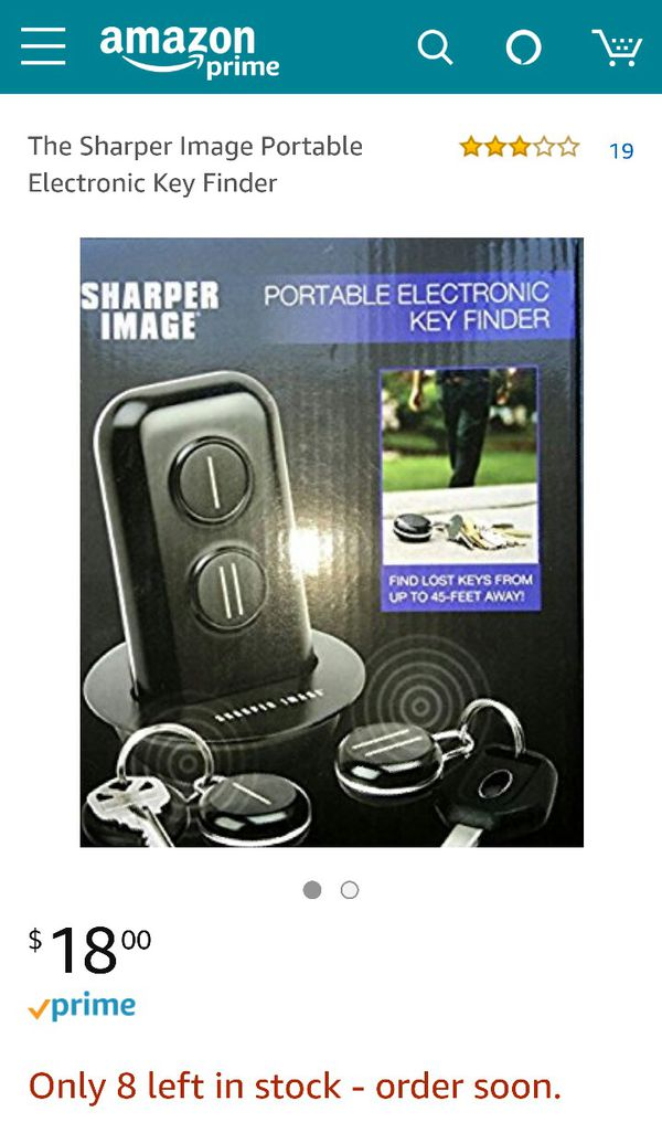 Sharper Image Electronic Key Finder For Sale In Del Valle Tx Offerup