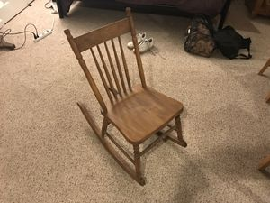 Antique wooden rocking chair for Sale in Rockville, MD