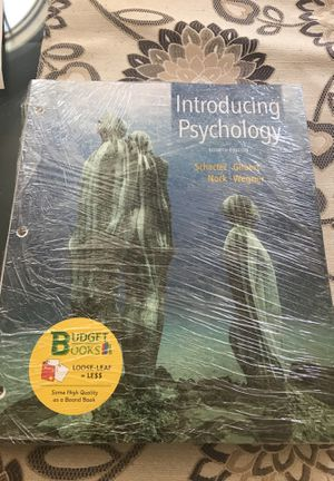 Introducing Psychology by schacter, Gilbert, Nock, and Wegner. Fourth edition for Sale in Triangle, VA