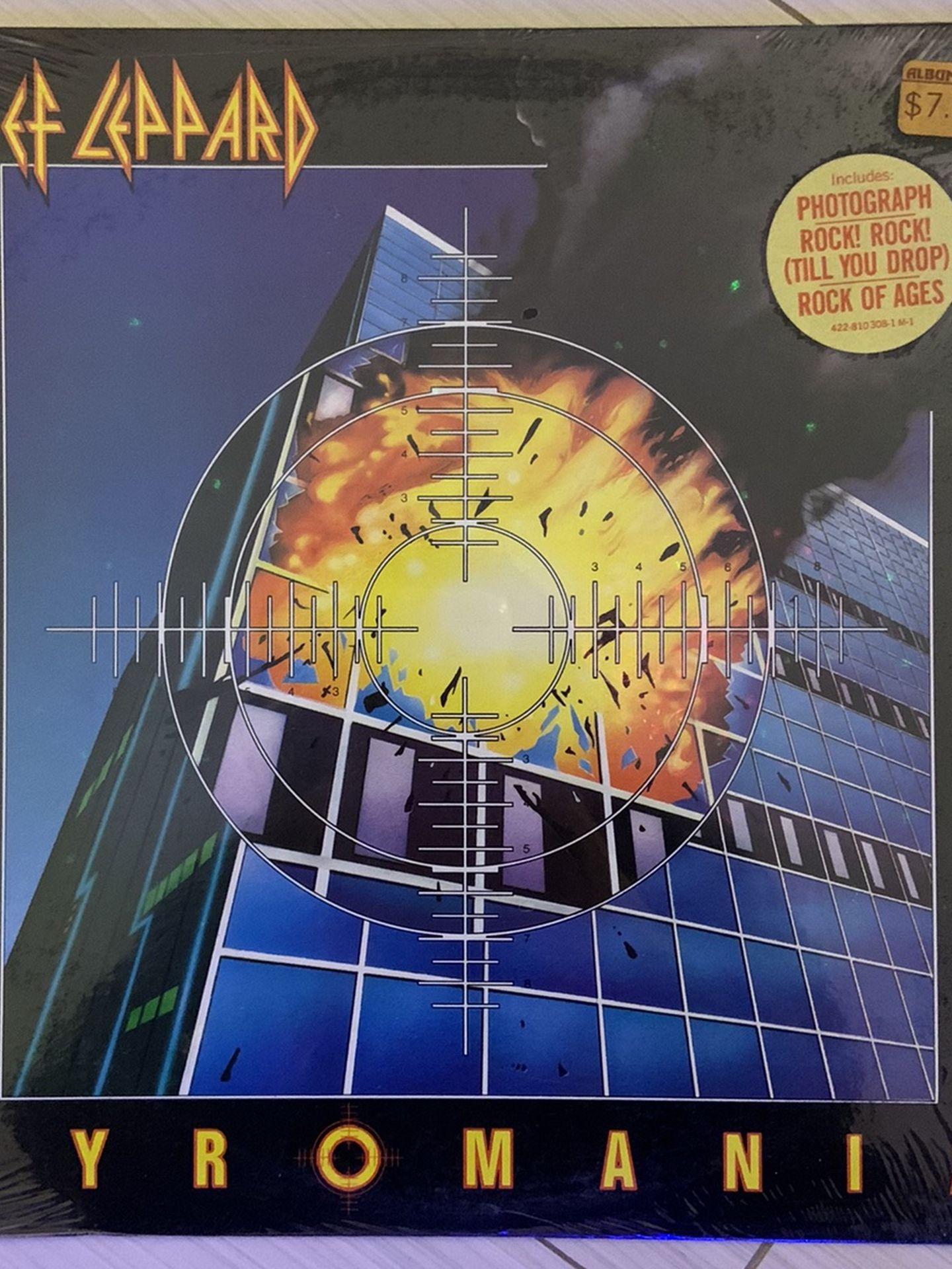 Def Leppard: Pyromania LP Vinyl