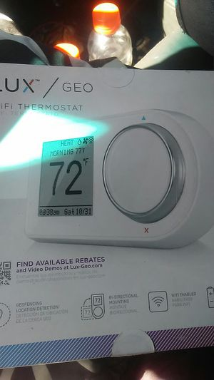 LUX/GEO WIFI THERMOSTAT for Sale in Dillon, CO