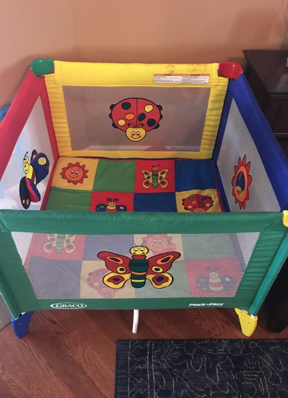 Graco Pack N Play Large Play Pen For Sale In Destin Fl Offerup