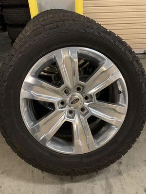 Photo Platinum Ford F150 Wheels Rims Tires Rines 2020 F-150