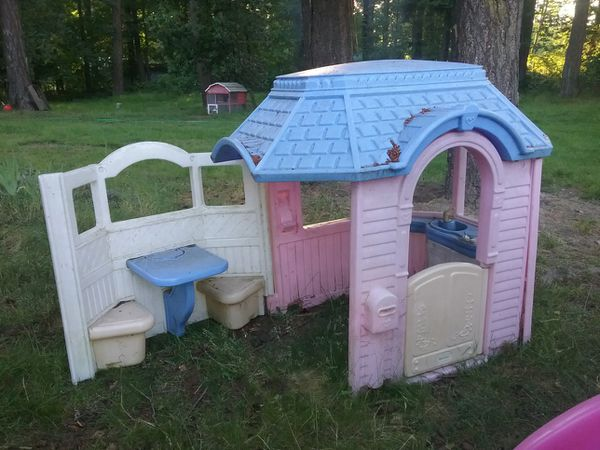 Pink Victorian Playhouse For Sale In Eatonville Wa Offerup
