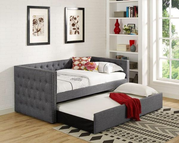 Trina ivory twin daybed with trundle 5335 for sale in houston tx