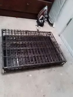 Cage for dog, cat, big parrots classifieds any pet. And folds, Thumbnail