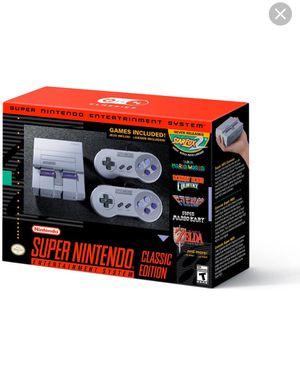 Super Nintendo Classic for Sale in Fayetteville, AR