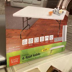 Easy Home 6 Foot Table Thumbnail