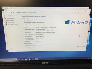 ACER Aspire ZC-606 all in one computer intel celeron 2.41 GHz for Sale in Kent, WA