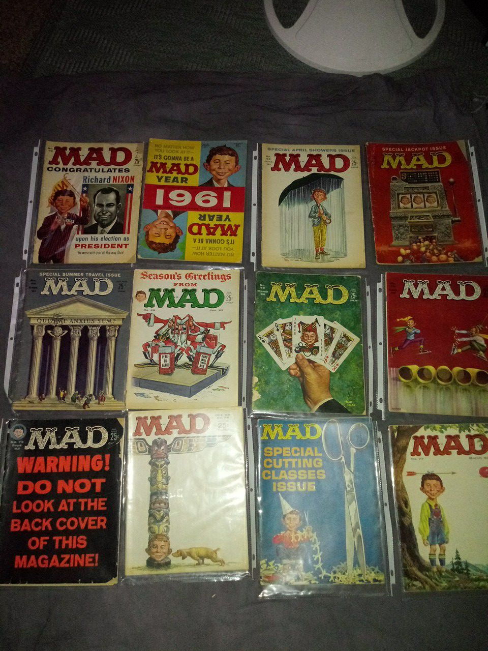 Vintage 1960's mad magazine collection
