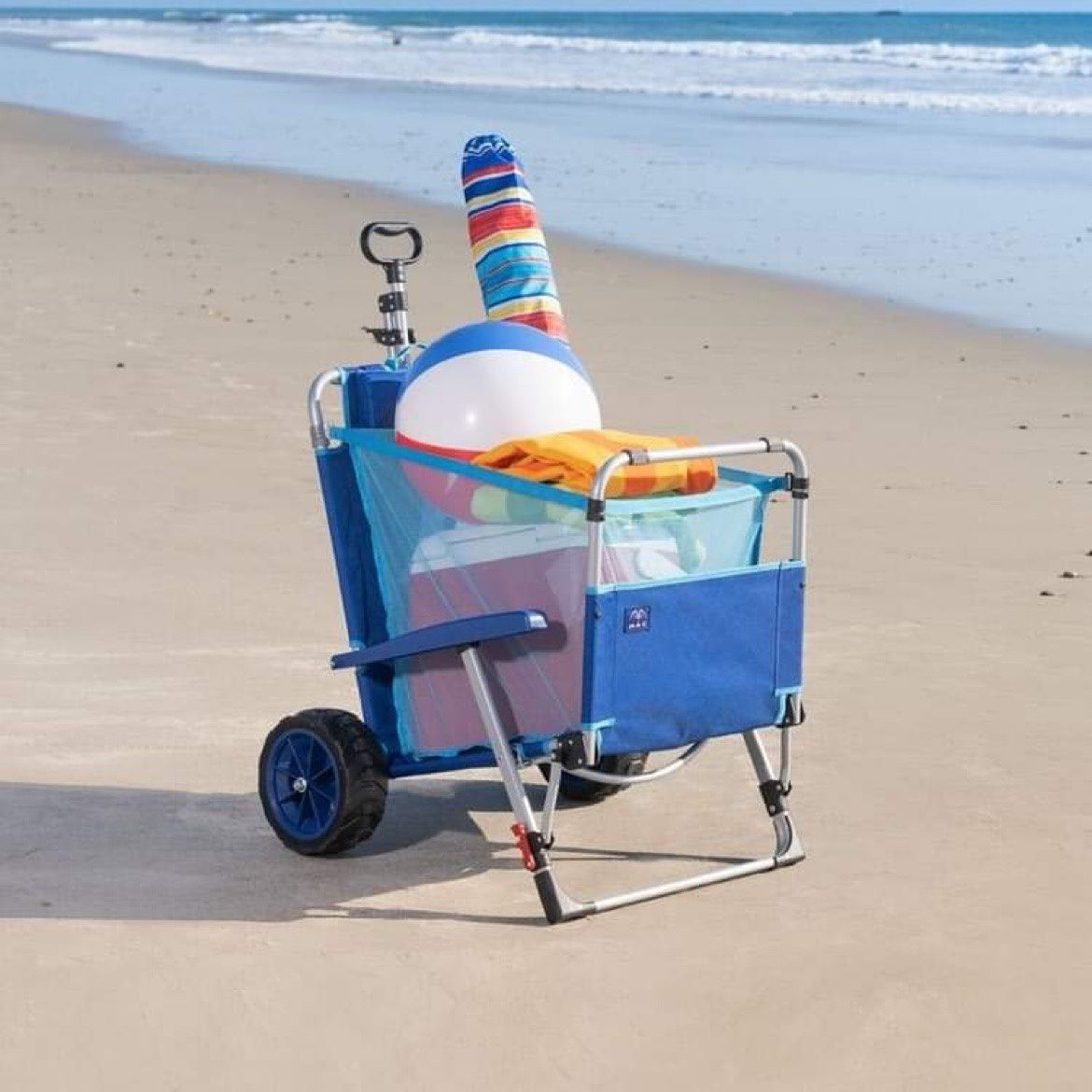 Beach Wagon Chair- New. Shipping available through PayPal.