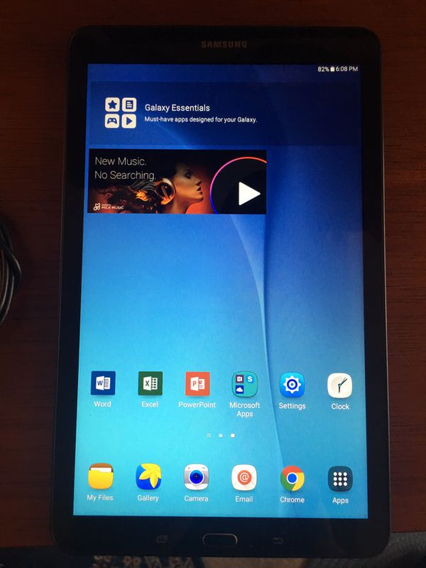 "*MINT* 9 6"" Samsung Galaxy Tab E - 16 Gig Storage - WiFi - Office 365 for  Sale in Little Canada, MN - OfferUp"